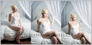 Examples of Boudoir Portraits by TeAirra Mitchell Photography